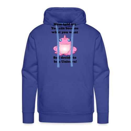 frogunicorn - Sweat-shirt à capuche Premium pour hommes