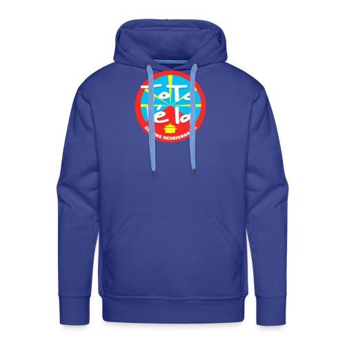 Collection Toto Lé La 974 - Sweat-shirt à capuche Premium pour hommes