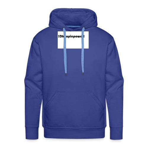 Dhoopiepowers - Mannen Premium hoodie