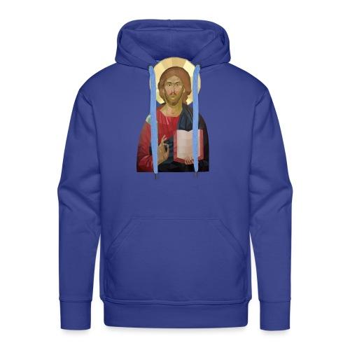 Abstract Jesus - Men's Premium Hoodie