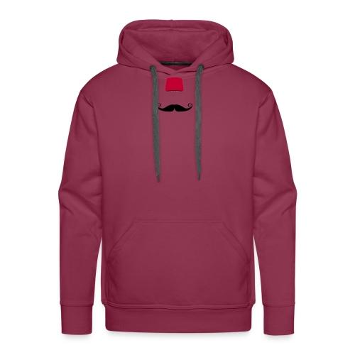 bart fez - Männer Premium Hoodie