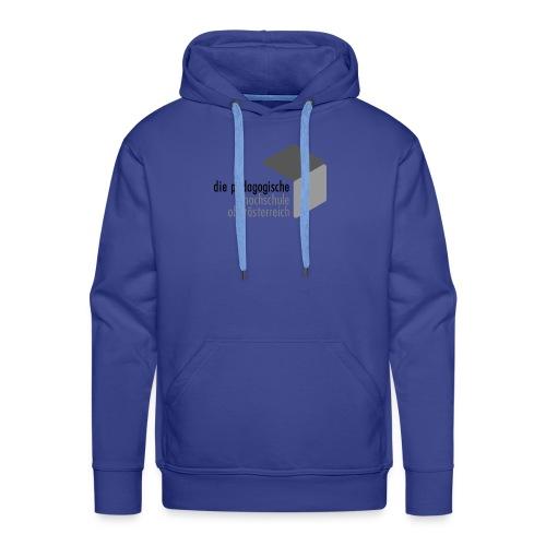 PH OOE Logo grau - Männer Premium Hoodie