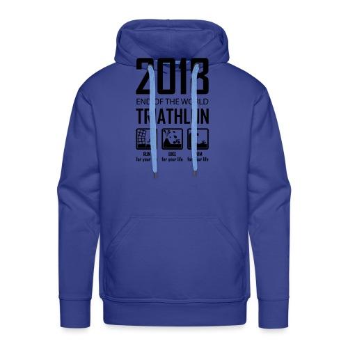 2018 End of the World Triathlon - Mannen Premium hoodie