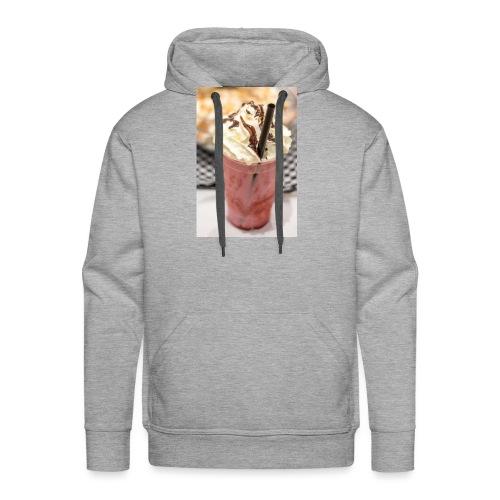 milkshake - Sweat-shirt à capuche Premium pour hommes