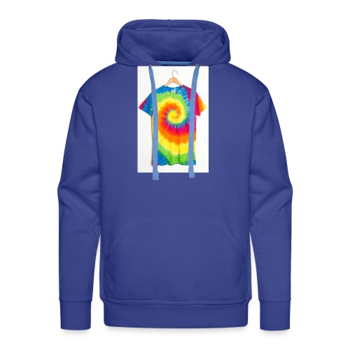 tie die small merch - Men's Premium Hoodie