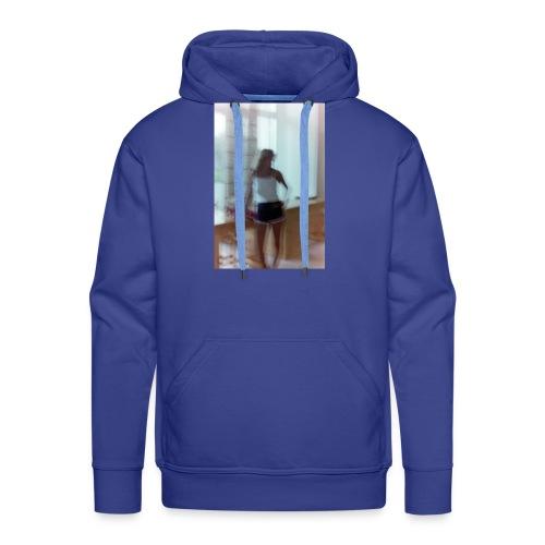 Mädchen in Shorts - blurred vintage photography - Männer Premium Hoodie
