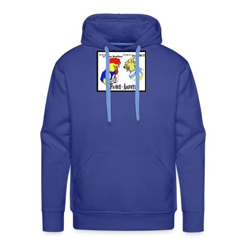 france argentine - Sweat-shirt à capuche Premium pour hommes