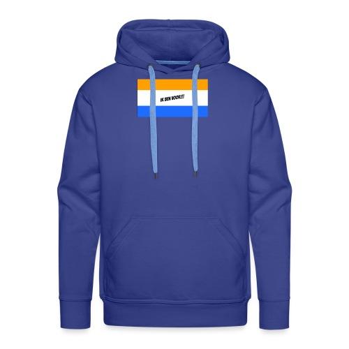 Ik ben voor!! - Mannen Premium hoodie