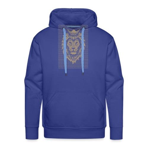 Lion Crown - Men's Premium Hoodie