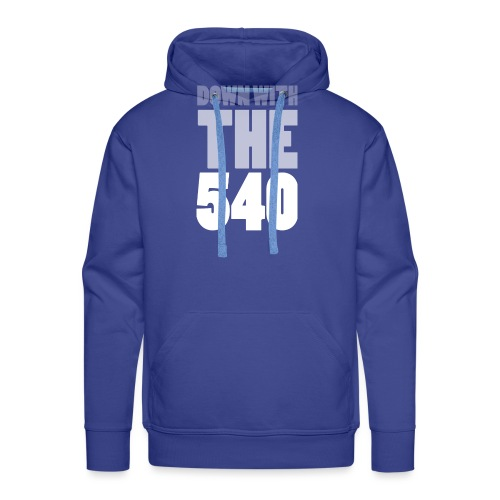 Down with the 540 Grey - Men's Premium Hoodie