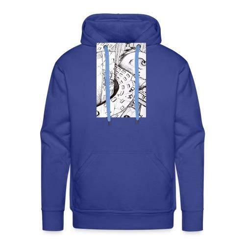 detail bird - Sweat-shirt à capuche Premium pour hommes