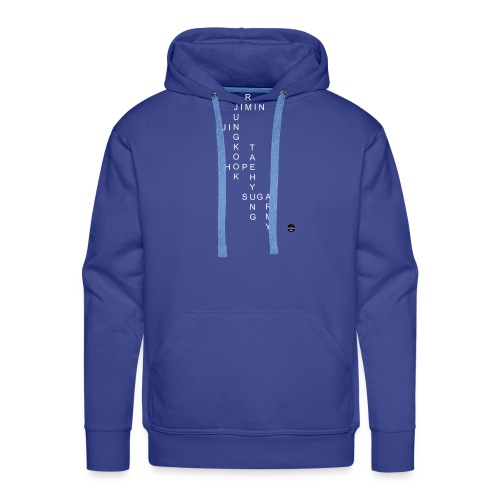 BTS + ARMY CROSSWORD - Men's Premium Hoodie