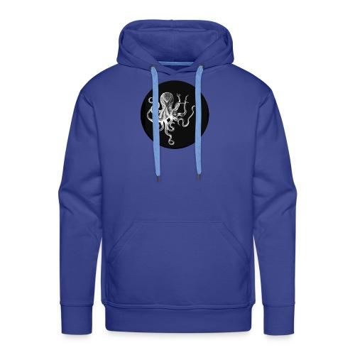 OCTOPUS black - Felpa con cappuccio premium da uomo