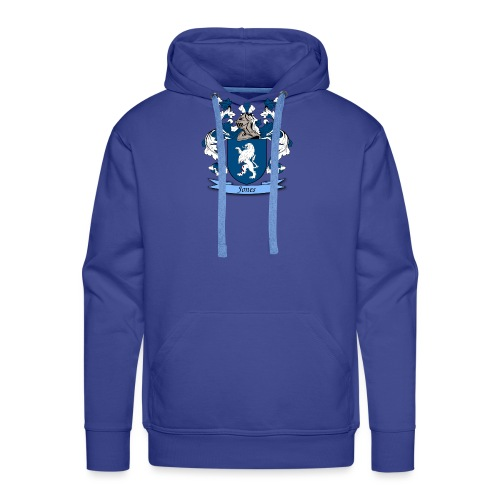Jones Family Crest - Men's Premium Hoodie