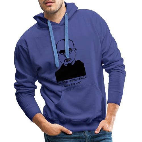 Hl. Maximilian Kolbe - Bitte für uns! - Männer Premium Hoodie