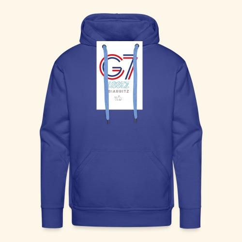 G-Cétacé - Sweat-shirt à capuche Premium pour hommes