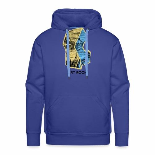ART ROCK No 4 colour - Mannen Premium hoodie