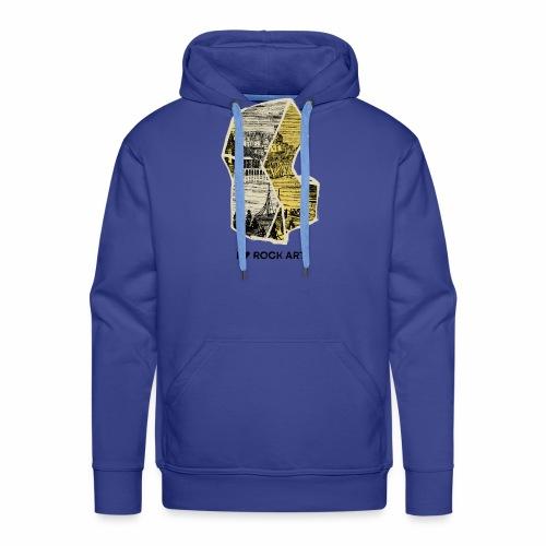 I LOVE ROCK ART No 2 colour - Mannen Premium hoodie