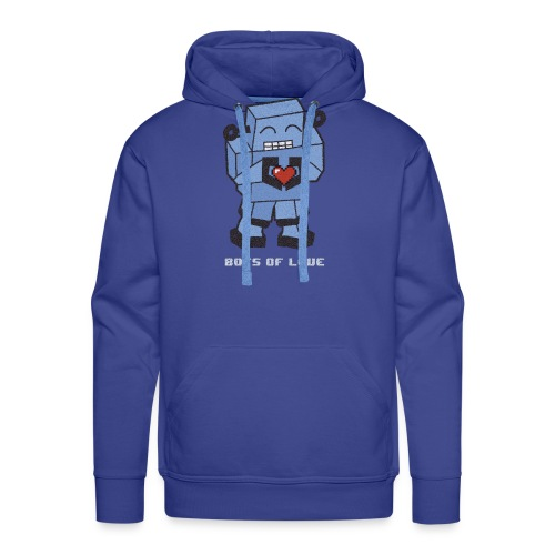 Bots of love grunge - Men's Premium Hoodie