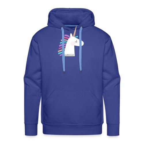 pastelsimmer Unicorn Merch - Bluza męska Premium z kapturem