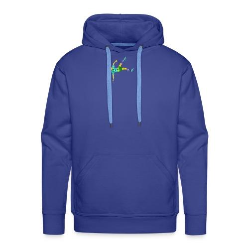 Footballer - Sweat-shirt à capuche Premium pour hommes