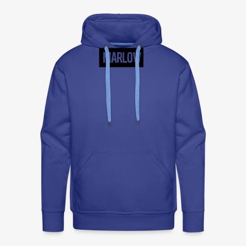MARLOW Box Logo - Men's Premium Hoodie