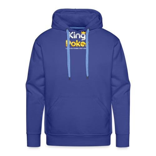 Logo King Poker - Sweat-shirt à capuche Premium pour hommes