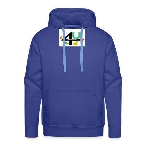 LOGO STAMPS4U - Männer Premium Hoodie