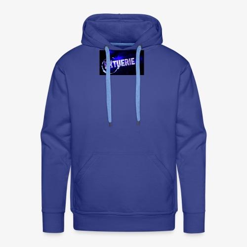 logo de mon blaze - Sweat-shirt à capuche Premium pour hommes