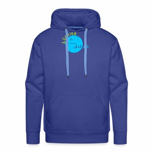 KreisTuerkisgruen - Männer Premium Hoodie