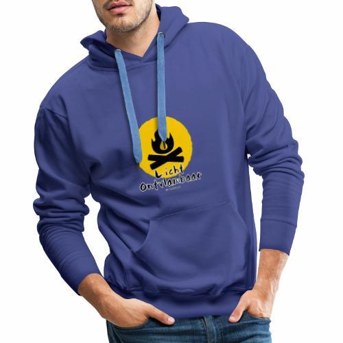 Licht ontvlambaar - Mannen Premium hoodie