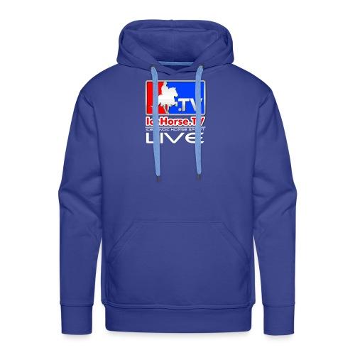 IceHorse logo - Men's Premium Hoodie