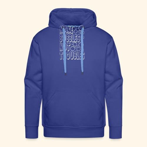 Bubbles003 - Mannen Premium hoodie