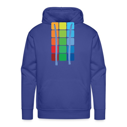 Square color - Men's Premium Hoodie