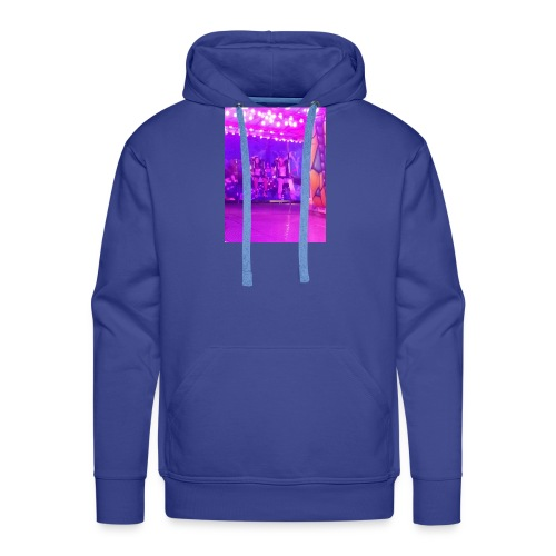 Fête foraine manège magie plein de couleurs rose . - Sweat-shirt à capuche Premium pour hommes