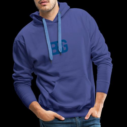 BBG L.I.F.E - Sweat-shirt à capuche Premium pour hommes