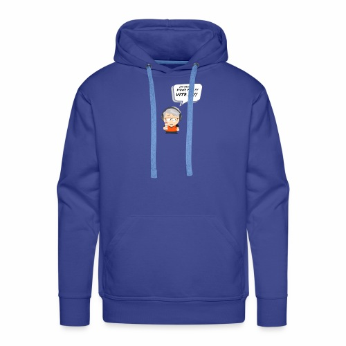Le Vieux Bourré - Sweat-shirt à capuche Premium pour hommes