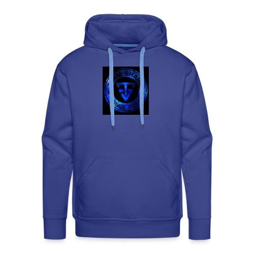 tram Shape - Sweat-shirt à capuche Premium pour hommes