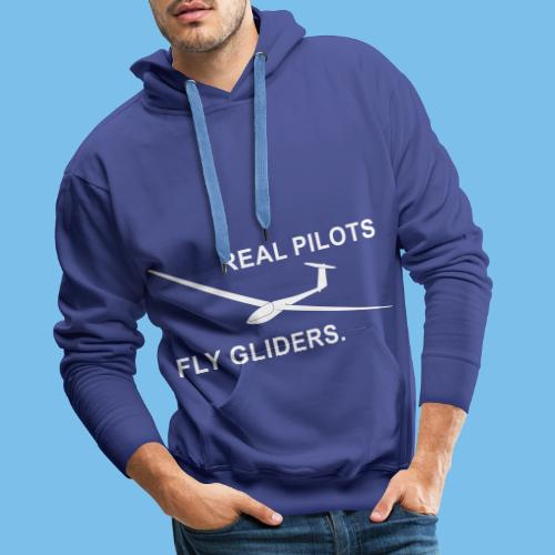 Segelflieger Segelflugzeug gleiten Geschenkidee - Männer Premium Hoodie