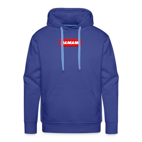 HAMAMI - Felpa con cappuccio premium da uomo