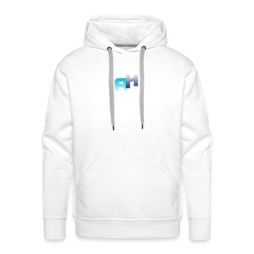 Logo-1 - Felpa con cappuccio premium da uomo