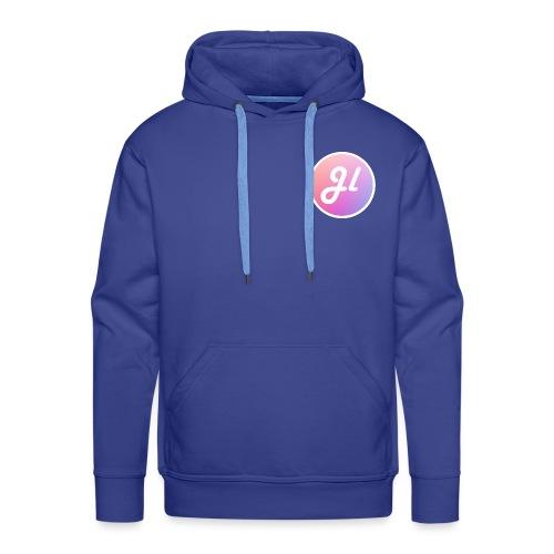 Just Lewis Circle Logo - Men's Premium Hoodie