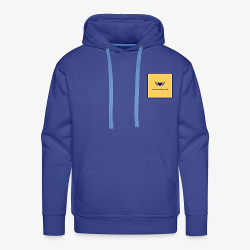 Aaronsuniquevids Original Logo #3 - Men's Premium Hoodie