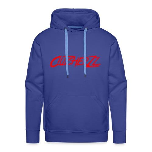 Spreadshirt written logo - Sweat-shirt à capuche Premium pour hommes