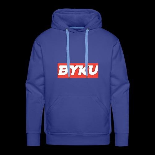 BYKUclothes - Bluza męska Premium z kapturem