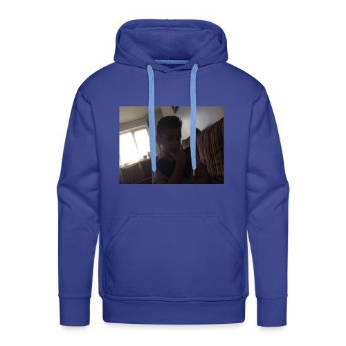 imagebecause its all - Men's Premium Hoodie