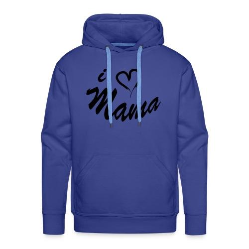 i love mama KIDS shirt - Mannen Premium hoodie