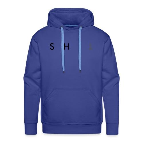SHIT - Felpa con cappuccio premium da uomo