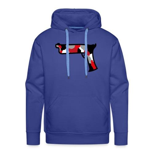 strijdR T-shirt pistol black - Mannen Premium hoodie
