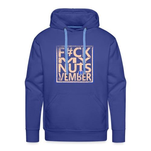 No nut vember - Mannen Premium hoodie